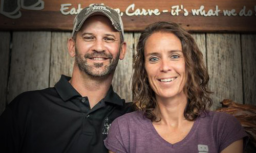 Jason Emmons and Cindy Emmons