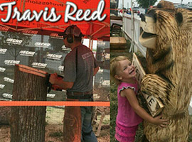 Travis Reed Professional Chainsaw Carver