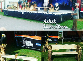 Jason Stoner Professional Chainsaw Carver