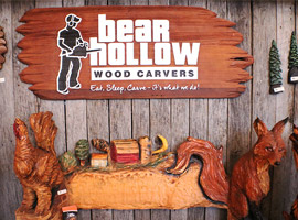 Bear Hollow Wood Carvers Store
